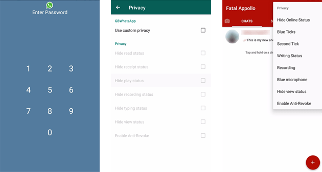 GB WhatsApp v6 70 Download APK for Android Latest Version[2019