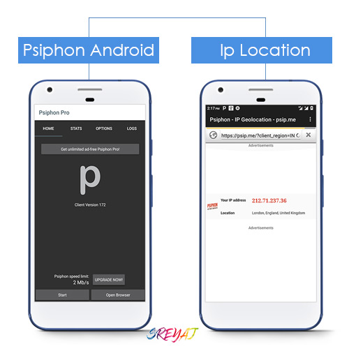 Download Psiphon for Windows PC(Win 7/8/10), Android and iOS Devices