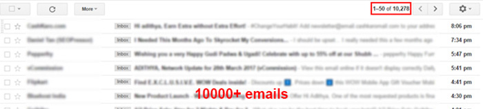 Block Spam EMails
