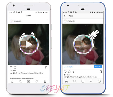Auto Play in Instagram Lite vs Instagram - Download Instagram Lite Apk