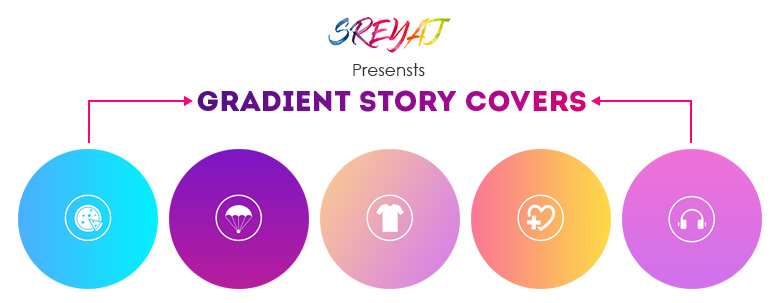 Gradient Instagram Story Covers Download