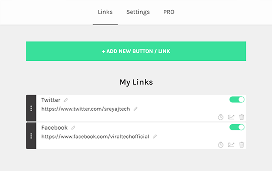 Adding Links/Buttons in Linktree - Links in Instagram Bio