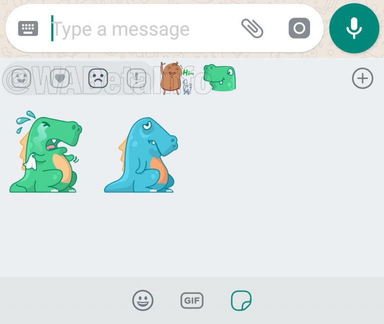 WhatsApp Reaction Stickers
