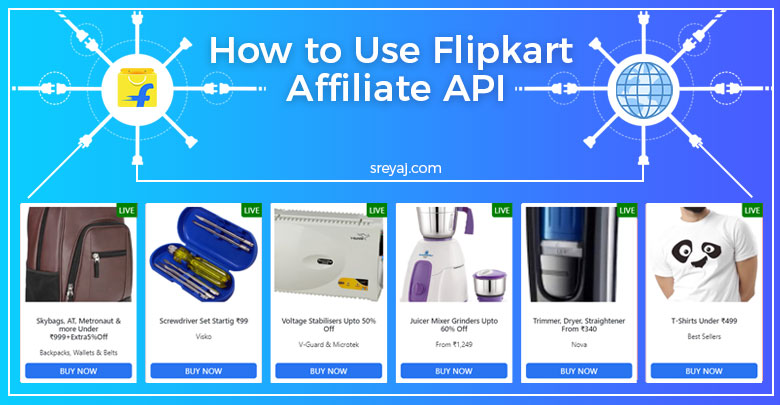 Flipkart Affiliate API usage