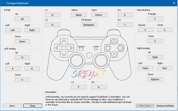RPCS3 Controller Mapping- Best PS3 Emulator for PC