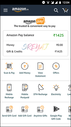Amazon Pay - Best Recharge Apps in India