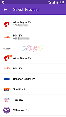 DTH Recharge on PhonePe - Best Recharge Apps