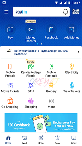 Paytm App - Best Recharge Apps in India