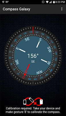 Compass Galaxy - Best Compass Apps for Android