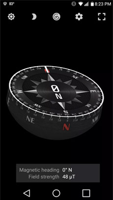 Compass Steel 3D - Best Compass Apps for Android