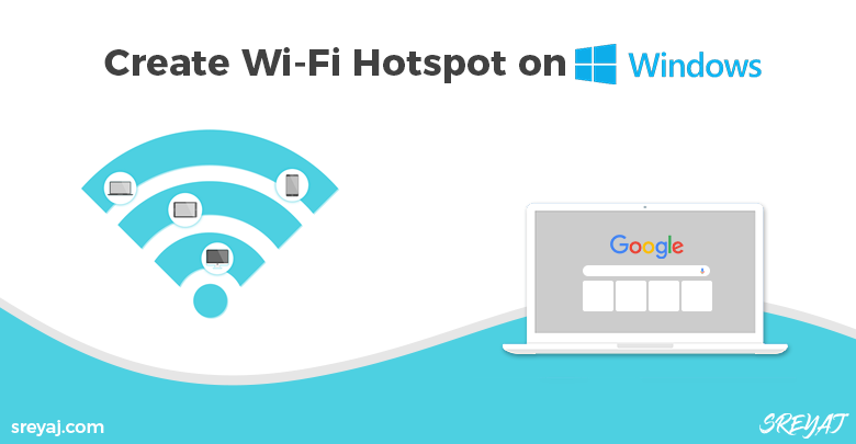 Convert Windows Computer to Wifi Hotspot