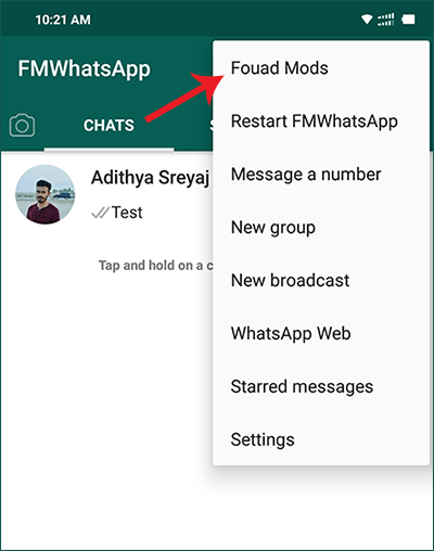 Access FMWhatsApp Mods and Features