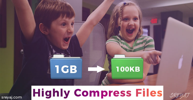 highly compress files