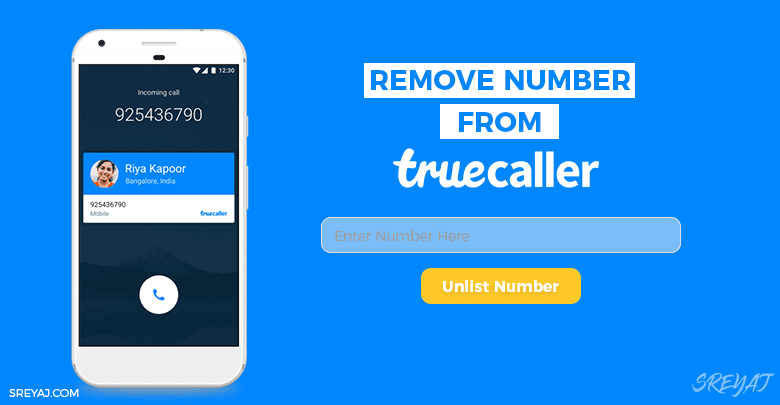 Remove Phone Number from Truecaller