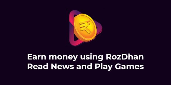 Earn Money using RozDhan